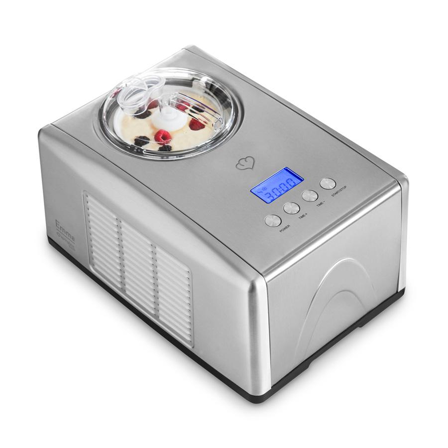 Eismaschinen  Eismaschine Emma mit Kompressor 1,5 l - Springlane Kitchen