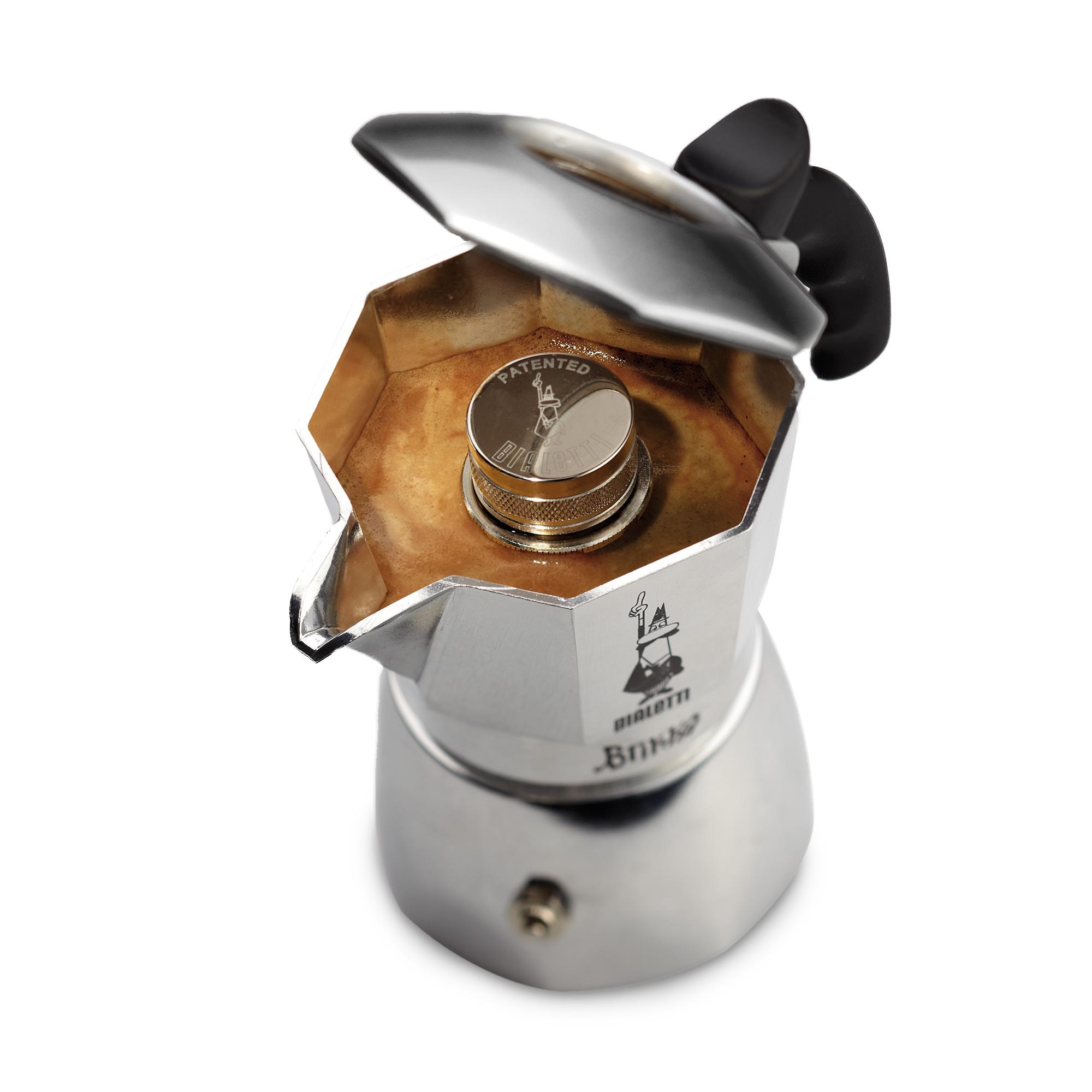 Espressokocher Brikka Elite mit Cremaventil für 4 Tassen - Bialetti | {Espressokocher 18}