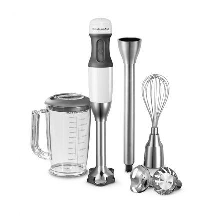 KitchenAid Stabmixer Classic mit Zubehör weiß 11 tlg.