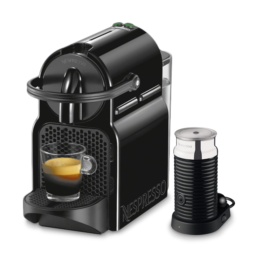 nespresso inissia en 80 bae inkl aeroccino de longhi. Black Bedroom Furniture Sets. Home Design Ideas