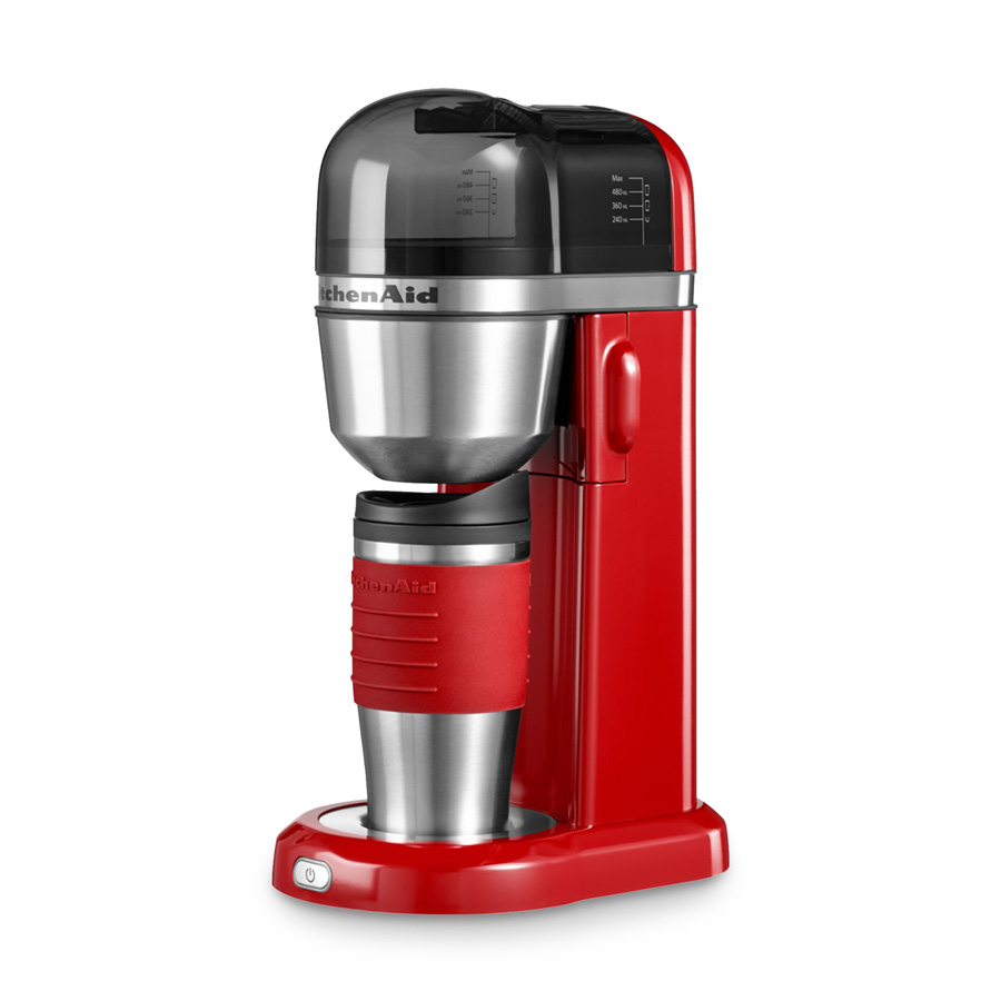 kaffeemaschine kitchenaid to go empire rot kitchenaid. Black Bedroom Furniture Sets. Home Design Ideas