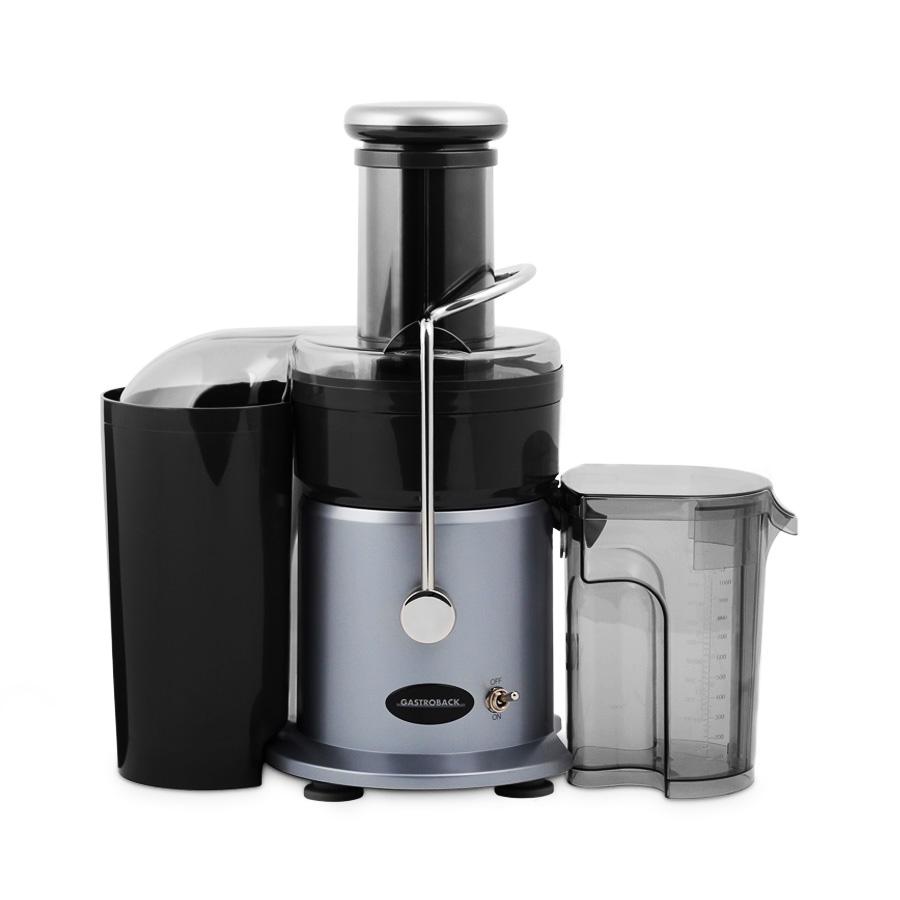 Edelstahl Entsafter Design Juicer 1 l 4 tlg  Gastroback ~ Entsafter Juicer