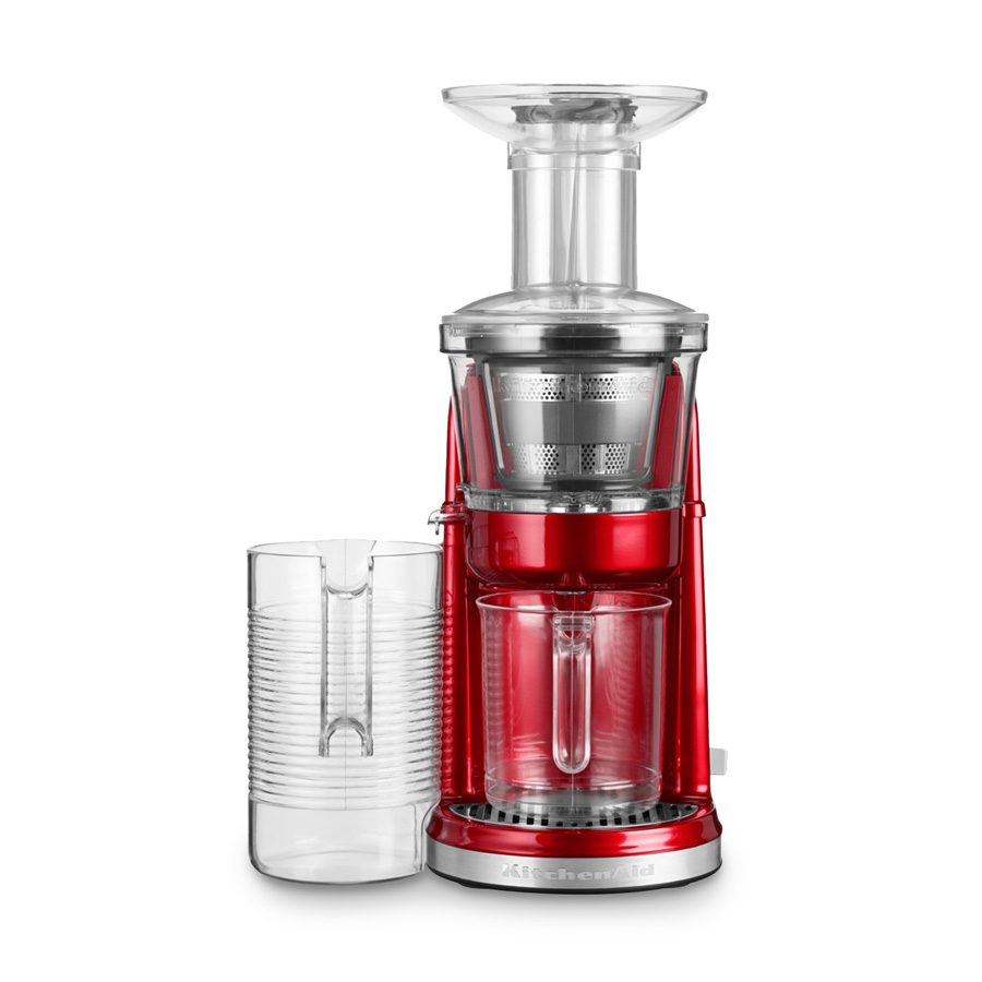 Slowjuicer Tilbud Kitchenaid : Slow Juicer Artisan liebesapfelrot - KitchenAid