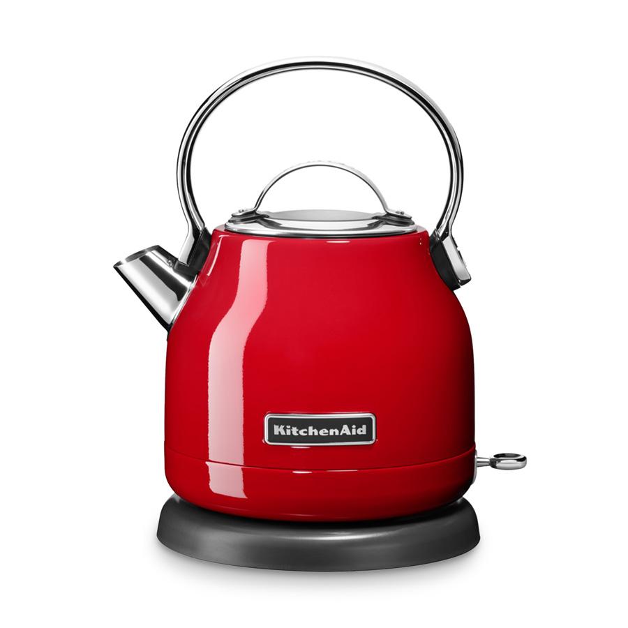 Edelstahl Wasserkocher KitchenAid 1,25 l empire rot  ~ Wasserkocher Rot