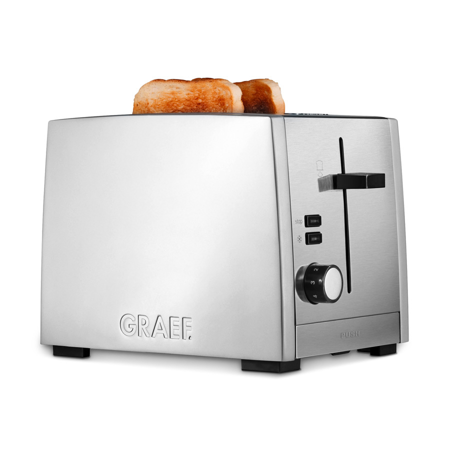 Edelstahl Toaster TO 80 - Graef.
