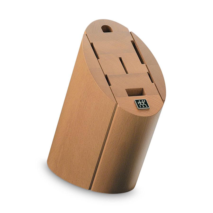 buche messerblock unbest ckt f r 5 messer plus schere und wetzstab zwilling. Black Bedroom Furniture Sets. Home Design Ideas
