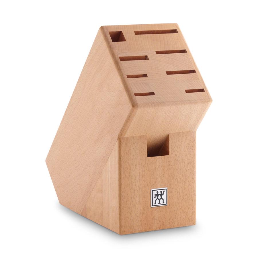 buche messerblock unbest ckt f r 7 messer plus schere und wetzstab zwilling. Black Bedroom Furniture Sets. Home Design Ideas
