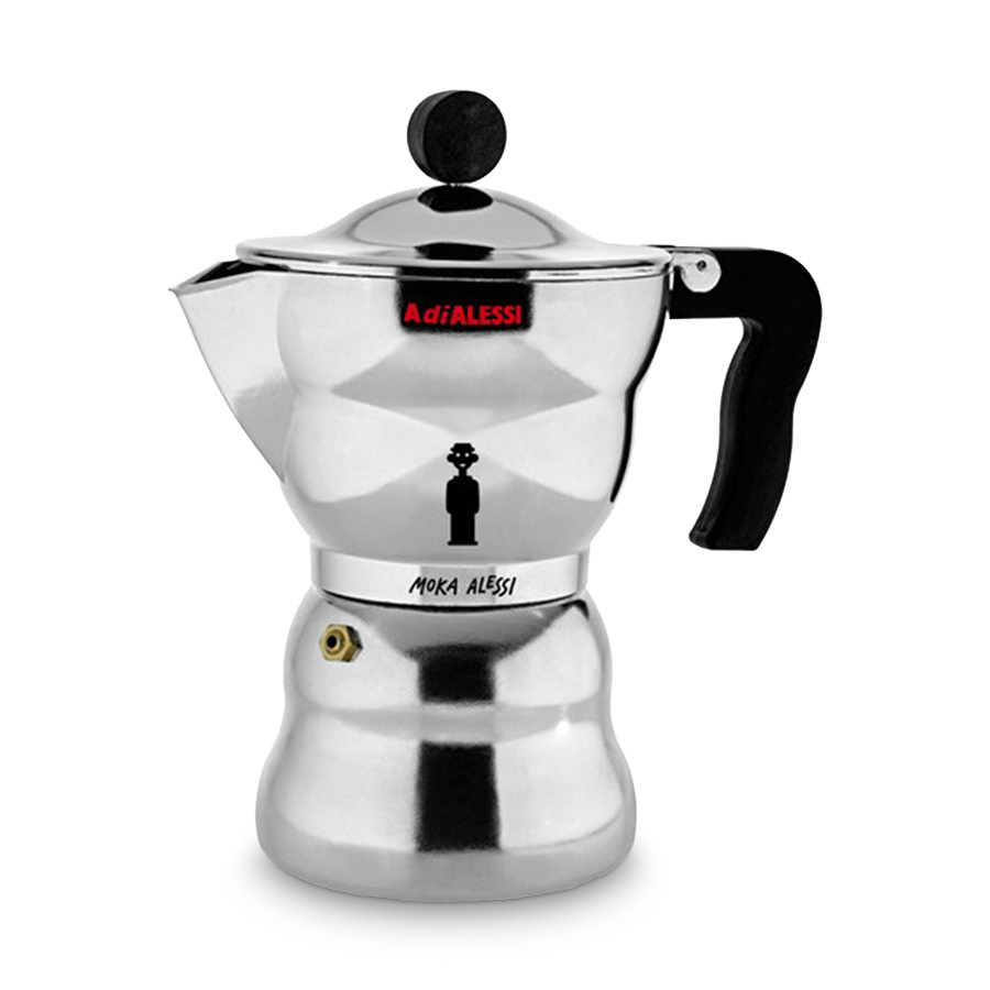 espressomaschine moka alessi f r 6 tassen alessi. Black Bedroom Furniture Sets. Home Design Ideas