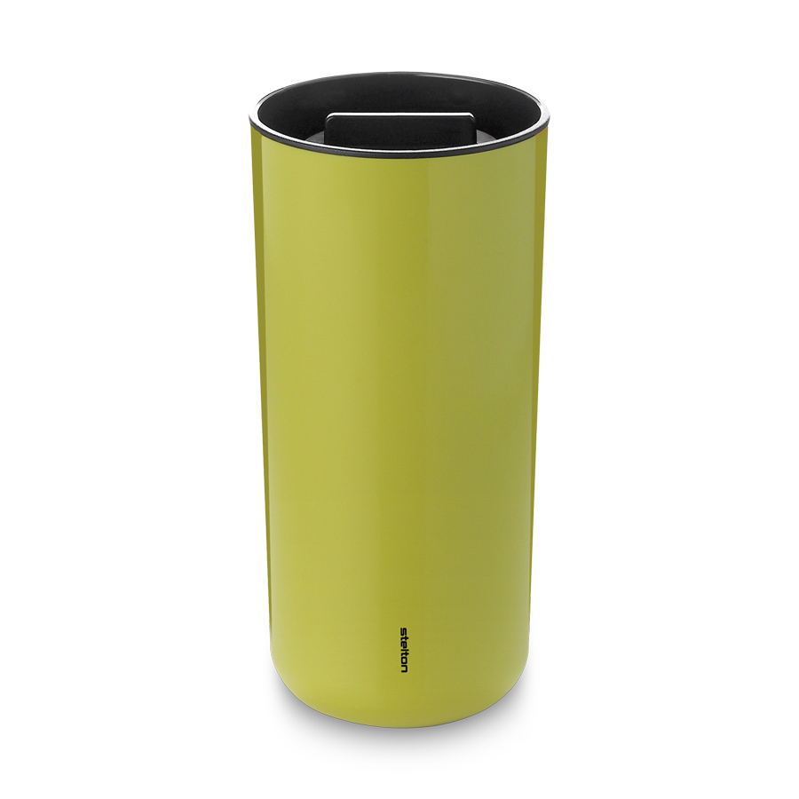 thermobecher 0 4 liter lime stelton. Black Bedroom Furniture Sets. Home Design Ideas