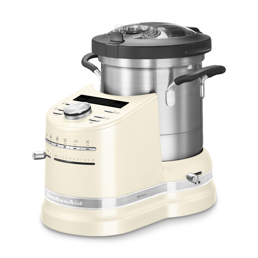 cook processor artisan 4 5 l creme 12 tlg kitchenaid. Black Bedroom Furniture Sets. Home Design Ideas