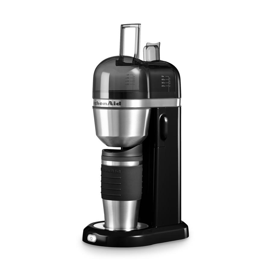 kaffeemaschine kitchenaid to go onyx schwarz kitchenaid. Black Bedroom Furniture Sets. Home Design Ideas