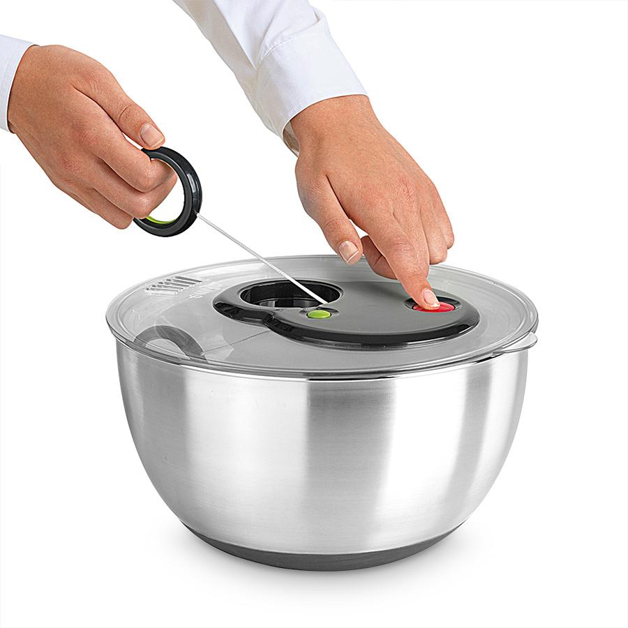 Küchenprofi Salatschleuder ~ gefu salatschleuder edelstahl u2013 günstige küche mit e geräten