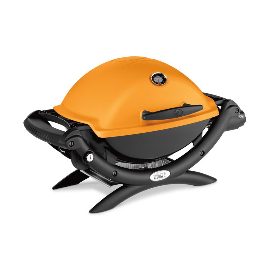 gasgrill weber q 1200 43 x 32 cm orange weber. Black Bedroom Furniture Sets. Home Design Ideas