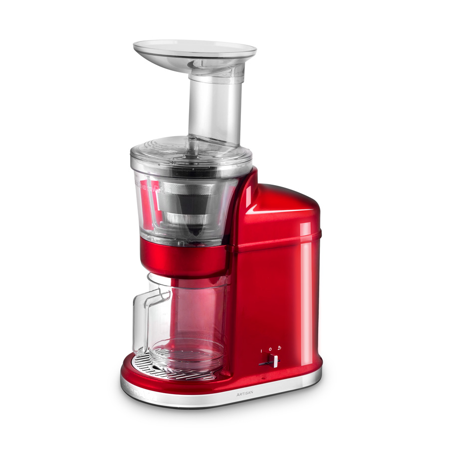 Kitchenaid Slow Juicer Dba : Slow Juicer Artisan liebesapfelrot - KitchenAid