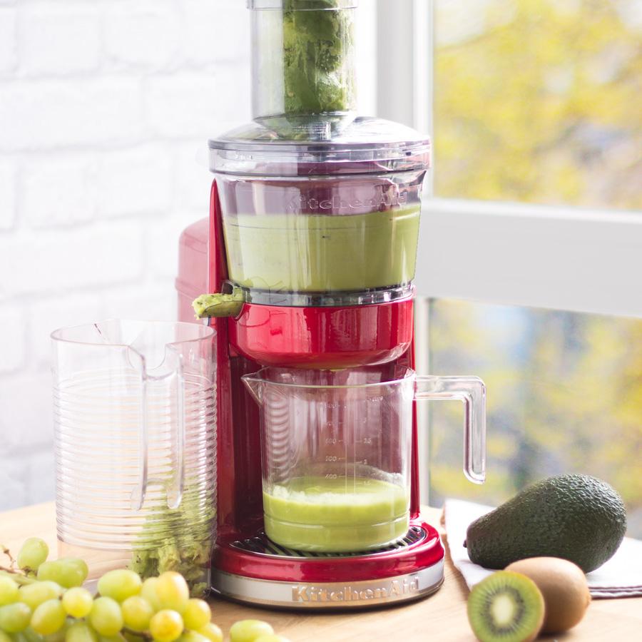 Kitchenaid Artisan Slow Juicer Test : Slow Juicer Artisan liebesapfelrot - KitchenAid